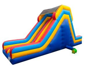 16' Dual Slide for a bounce house party