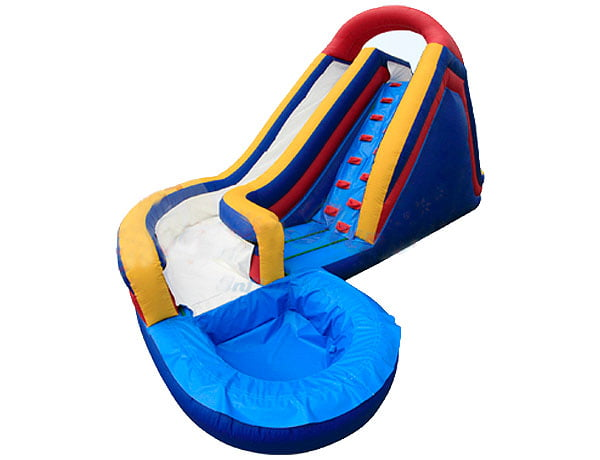 Infinity Giant Bounce House Water Slide for Town Events, birthday party activities