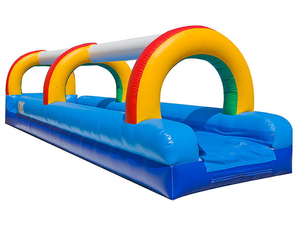 Rainbow Waterslide Inflatable Rental for Greensboro NC pool party activities