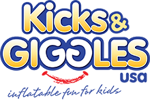 Kicks and Giggles USA | The Premiere Inflatable Moonwalk, Jump House, Waterslide, and Bounce House Rental company in NC.