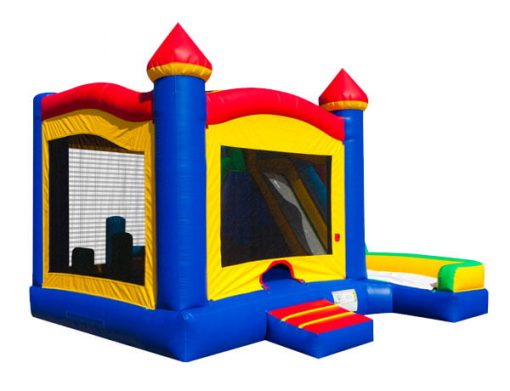 5 in 1 Castle Combo Bounce House to Rent - school fundraising ideas,  Bouncehouse, Castle