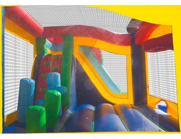 5 in 1 Castle Combo Bounce House to Rent - birthday party activities,  Bouncehouse, Castle