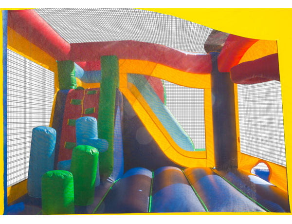 Castle 5in1 Combo Inflatable Jump House Kicks and Giggles USA