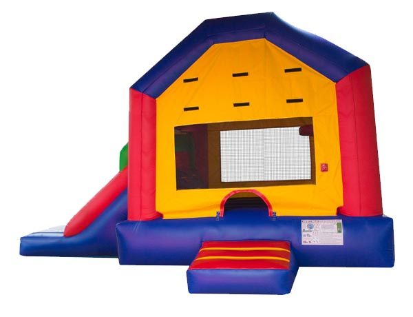 Funhouse EZ Combo Bouncehouse Moonwalk Inflatable,  Bouncehouse, Funhouse