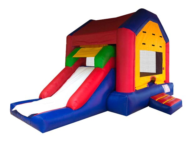 Funhouse EZ Combo Bouncehouse Inflatable,  Bouncehouse, Funhouse