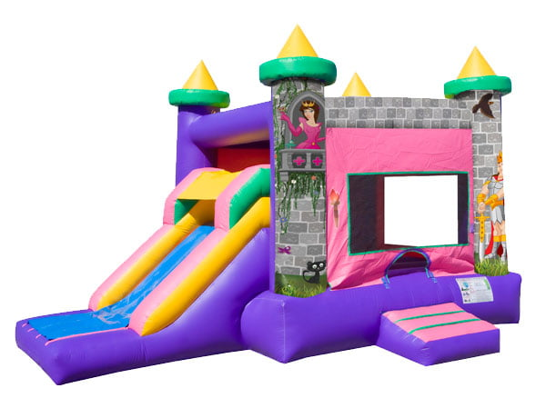 Princess EZ Combo Bouncehouse for girls and birthday party ideas,  Bouncehouse, Castle, Princess