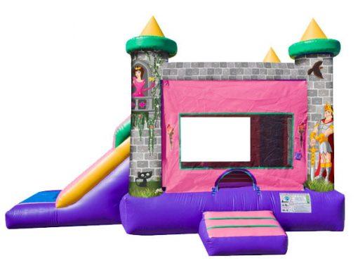 Princess EZ Combo Rental Bounce House with Slide,  Bouncehouse, Castle, Princess