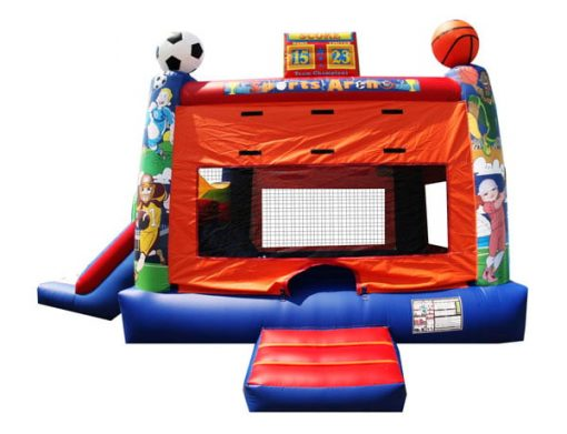 Sports Dual Combo Bouncehouse Inflatable,  Bouncehouse, Sports