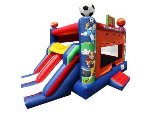 Dual Sports Combo Inflatable rental bouncehouse.,  Bouncehouse, Sports