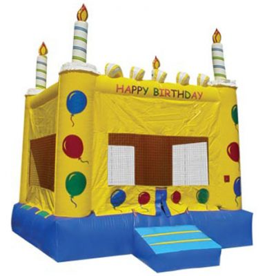 Cake Birthday Party Bounce House Rental Inflatable Jumper,  Birthday, Bouncehouse, Bouncer, Cake, Moonwalk