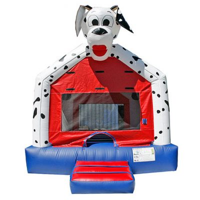 Dalmatian inflatable bounce house rental moonwalk,  Bouncehouse, Dalmatian, Dog, Firefighter, Firehouse, Fireman