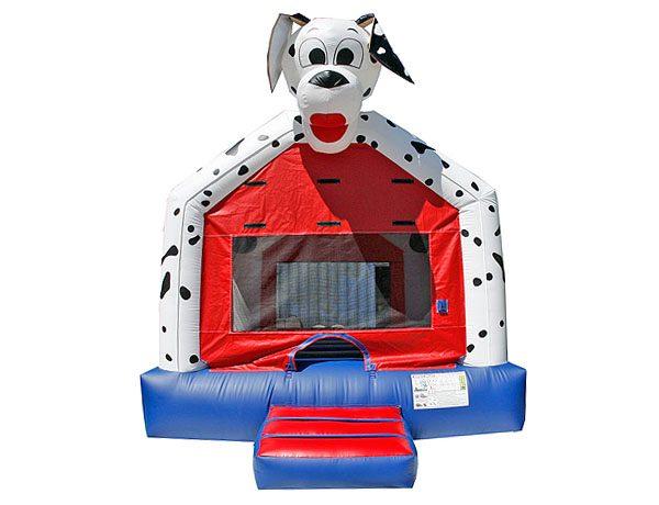 Dalmatian inflatable bounce house rental moonwalk,  Bouncehouse, Dalmatian, Dog, Firefighter, Firehouse, Fireman