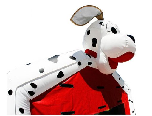 Dalmation Animal Inflatable bounce house activities for city events,  Bouncehouse, Dalmatian, Dog, Firefighter, Firehouse, Fireman