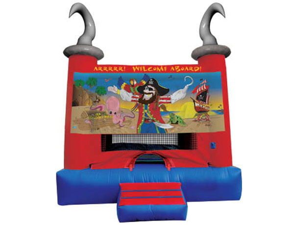 Pirate Bouncehouse Inflatable Rental for , pirate theme kids party,  Bouncehouse, Pirate