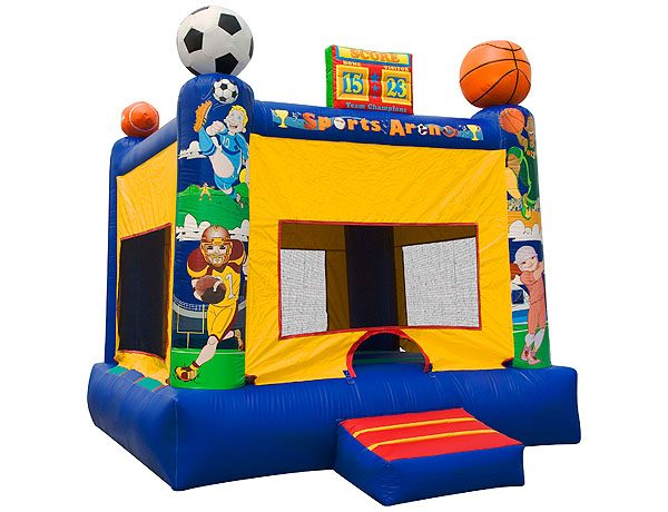 Inflatable bounce house for sports lovers and outdoor party ideas,  Bouncehouse, Sports
