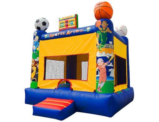 Sports Arena Moonwalk outdoor party activities,  Bouncehouse, Sports