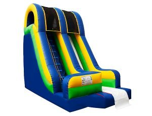 Swimming Poolside inflatable waterslide bounce house rental,  Inflatable Slide, Single Lane, Waterslide
