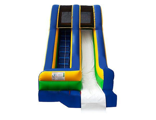 Poolside Water Slide for swim club events and community pools,  Inflatable Slide, Single Lane, Waterslide