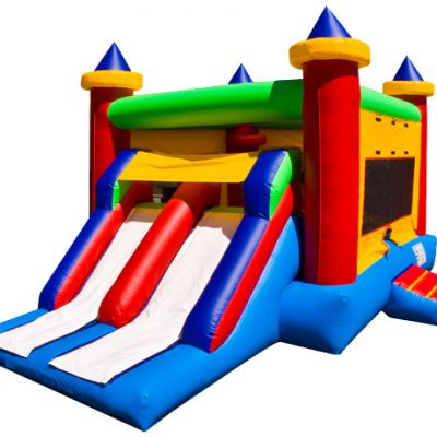 Dual Combo Slide Bounce house Fayetteville Southern Pines,  Bouncehouse, Castle, Combo
