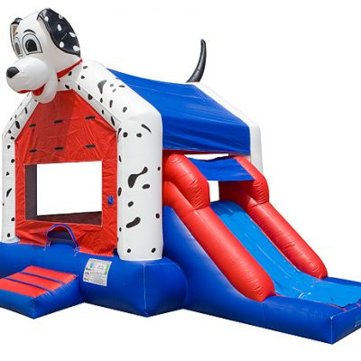 Dalmatian Animal inflatable slide promotions for Firefighters,  Bouncehouse, Dalmatian, Dog, Firefighter, Firehouse, Fireman