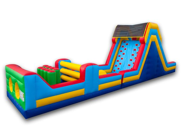 50' Obstacle Course rent a bounce house Kernersville High Point NC,  Package Deals