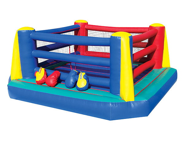 Boxing ring bounce house : Embers cincinnati