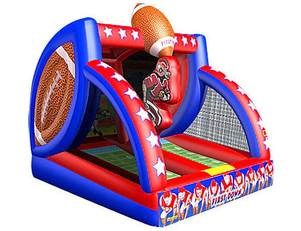 First Down Football bouncer game for school and church festivals,  Activity, Football, Games, Interactive, One-on-One, Sports