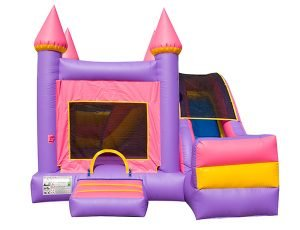 5in1 Princess Castle Combo Slide Winston Salem,  Bouncehouse, Castle, Princess