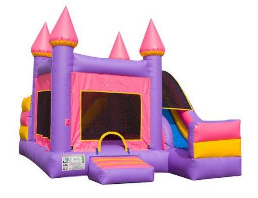 5in1 Princess Castle Combo Slide Lexington,  Bouncehouse, Castle, Princess