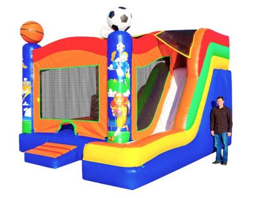 5in1 Sports Combo Bouncehouse with Slide Burlington,  Bouncehouse, Sports