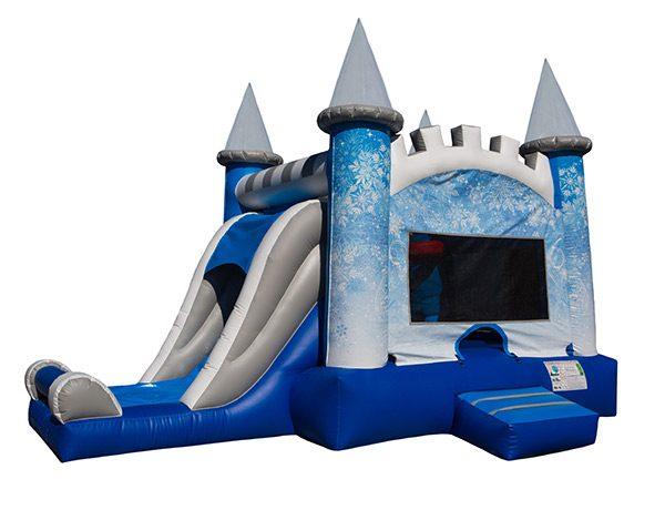 EZ Frozen Ice Castle Bouncer High Point,  Bouncehouse, Disney, Frozen