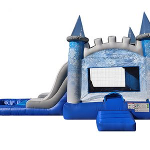 Rent a frozen bouncehouse for birthday girl fun!,  Bouncehouse, Combo, Disney, Frozen, Single Lane, Water Fun, Waterslide