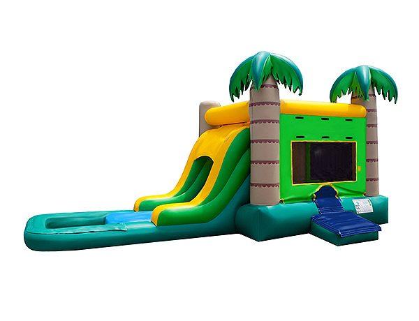 Palm Tree Bouncehouse Greensboro, Burlington, Mebane,  Bouncehouse, Combo, Single Lane, Water Fun, Waterslide