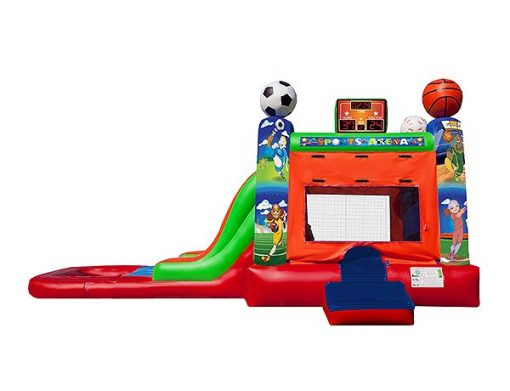 EZ Sports Wet Combo High Point, Lexington, Graham,  Bouncehouse, Sports