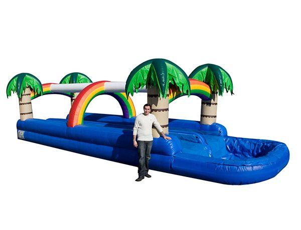 waterslide bouncey rental NC,  Dual Lane, Inflatable Slide, One-on-One, Water Fun, Waterslide