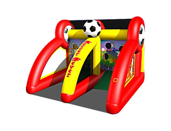 Soccer Fever Inflatable Game Greensboro,  Activity, Games, Interactive, One-on-One, Soccer, Sports