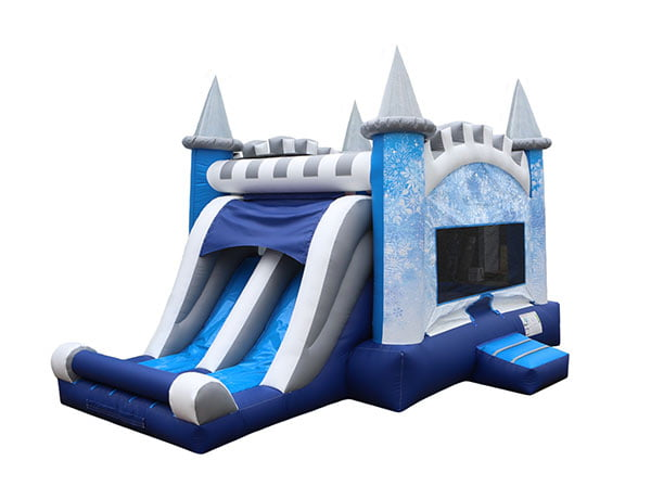 Disney Frozen Elsa Ice Castle Inflatable,  Bouncehouse, Disney, Frozen