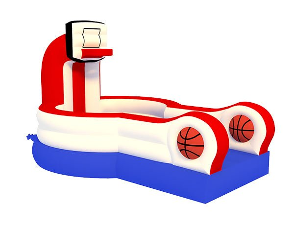basketball blow up inflatable game,  Activity, Basketball, Games, Interactive, One-on-One, Sports
