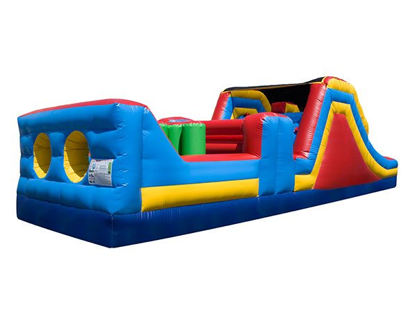 32' Obstacle Course Bouncehouse,  Activity, Games, Gladiators, Interactive, Ninja, Obstacle Course