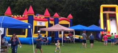 fall festival inflatable party greensboro high point burlington