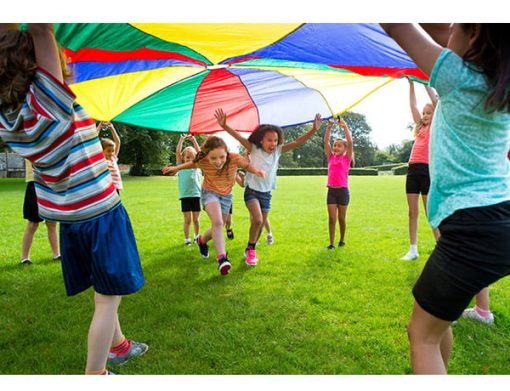 Parachute - Asheboro, Julian, Troy,  Activity, Games