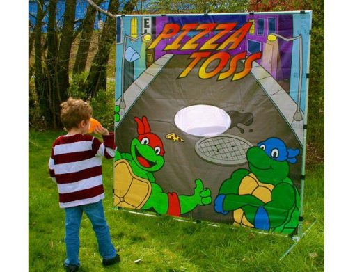Teenage Mutant Ninja Pizza Toss Game for Toddlers,  Activity, Games