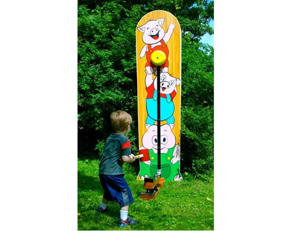 Kiddie Game Striker Strong Man Carnival,  Activity, Games