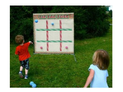 Tic Tac Toss Game for Toddlers,  Activity, Games