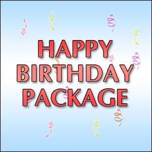 Happy Birthday Package Special Greensboro Asheboro,  Package Deals