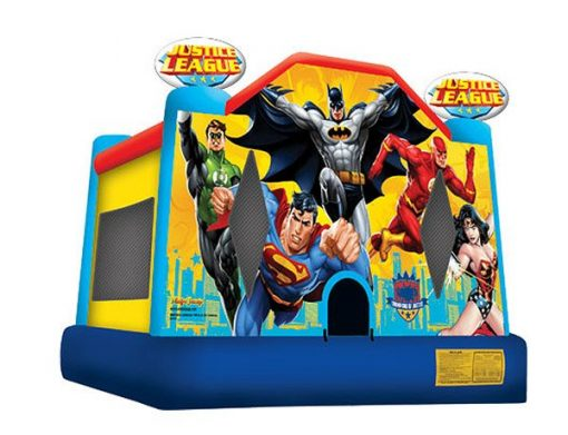 Justice League Moonwalk - Wonder Woman, Graham, High Point, Thomasville NC,  Bouncehouse, Justice League