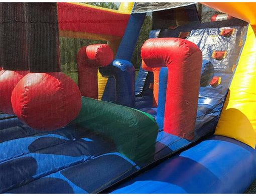 45' Bouncehouse Obstacle Course Rental Burlington,  Activity, Games, Gladiators, Interactive, Ninja, Obstacle Course