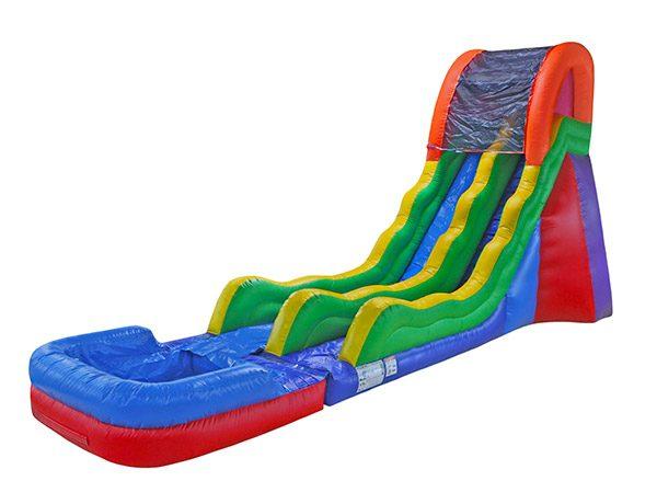 17 Fun Waterslide rental Elon,  Inflatable Slide, Single Lane, Waterslide