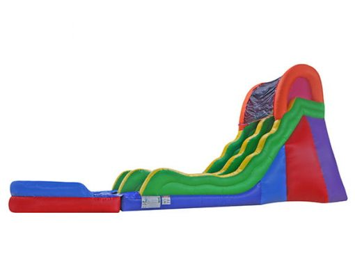 17 Fun Waterslide for rent Greensboro,  Inflatable Slide, Single Lane, Waterslide
