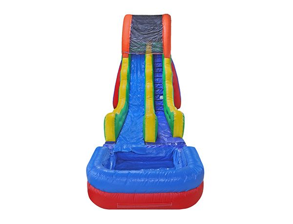 17 Fun Waterslide summer rental Elon party,  Inflatable Slide, Single Lane, Waterslide